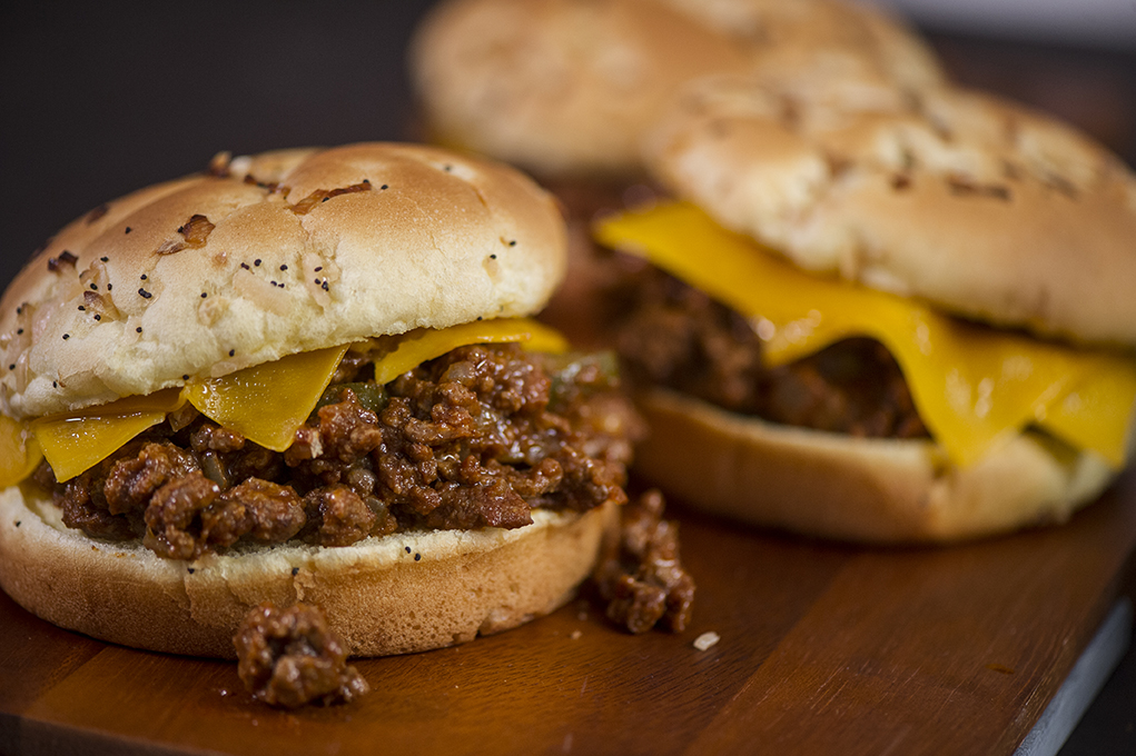 3. Jalapeño Sloppy Joe - Sloppy Joes can be perfect tailgate food. Just prep the meat beforehand, throw it into a slow cooker, plug it in on your drive to the game and you'll be ready to go by game time.