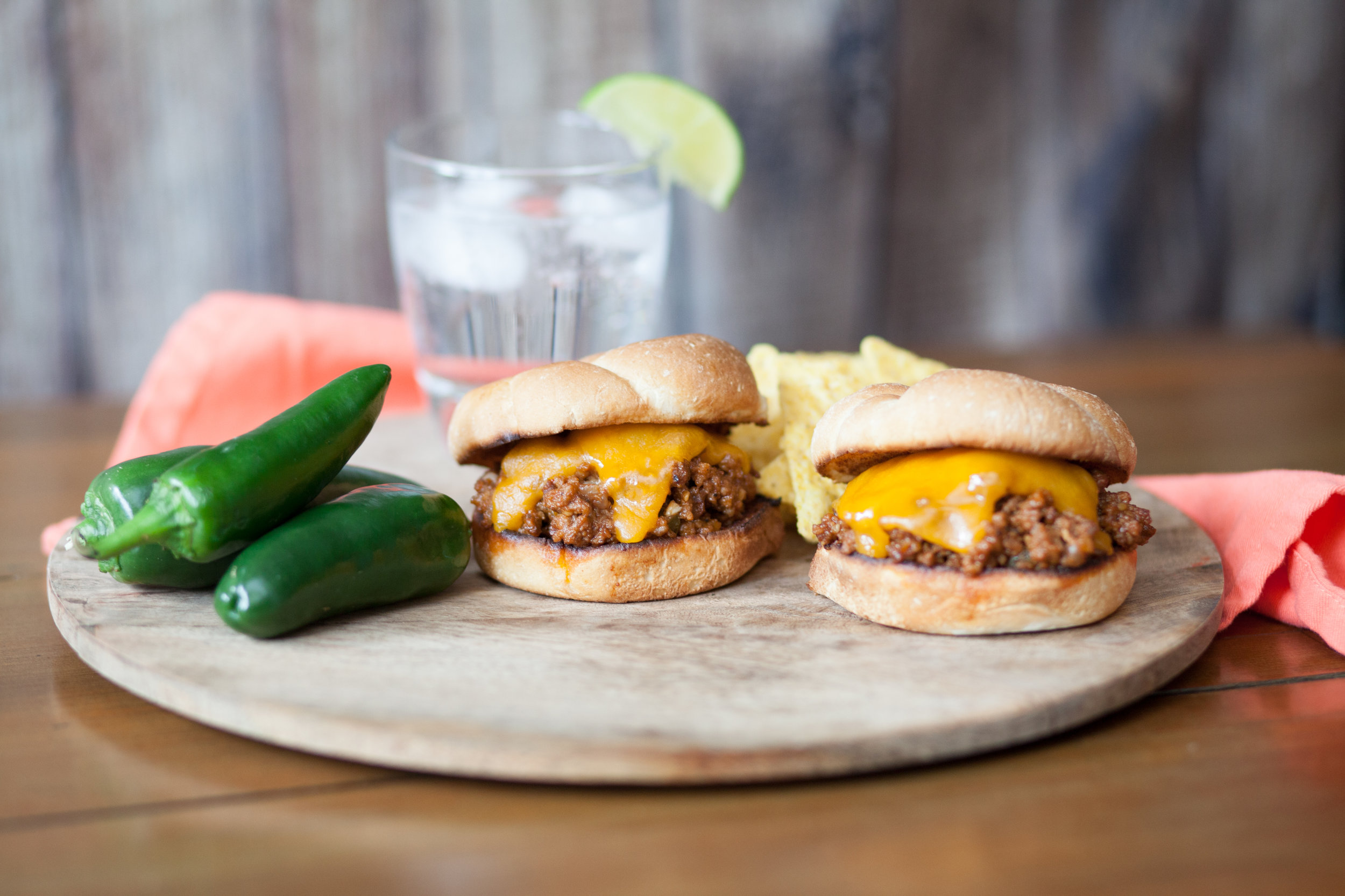3. Sloppy Chori-Joes - Up your Sloppy Joe game by mixing chorizo and jalapeño in your traditional mix for a spicier, mouth-watering addition to your tailgating spread.