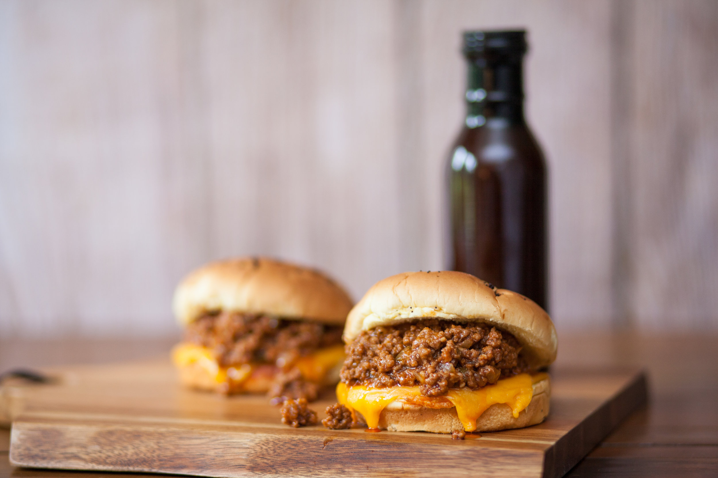 6. Jalapeño Sloppy Joes - They're cheesy, spicy, portable, and use our Deli Onion Buns. What more could you ask for, while cheering on your favorite team with your friends?