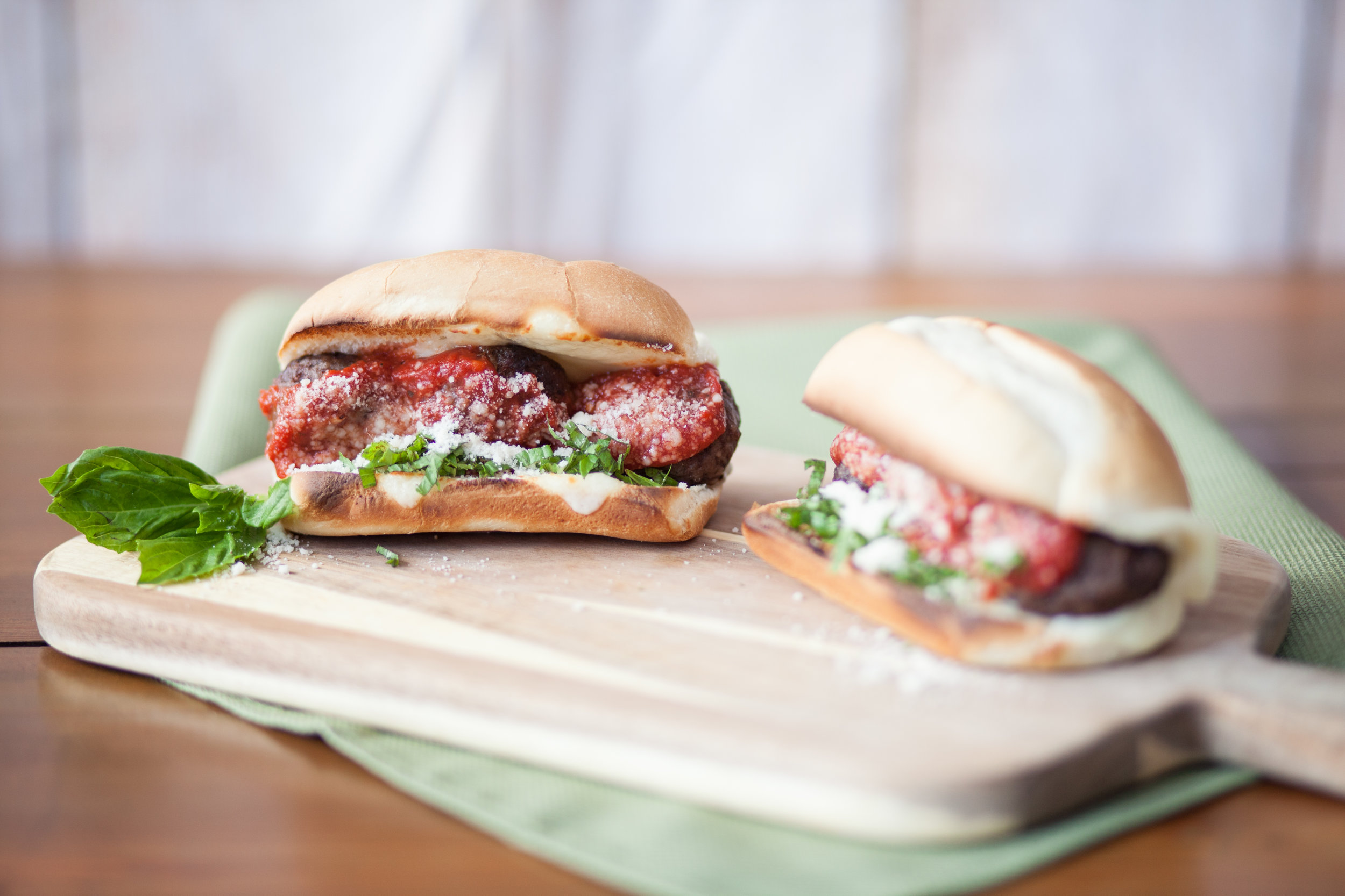 7. Meatball Hero - These meatball heroes will showcase your creativity and turn you into a hero of your own—a tailgate hero—regardless of what happens on the field.