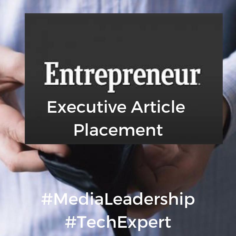 PRA Public Relations Executive Expert Contributor Entrepreneur Magazine