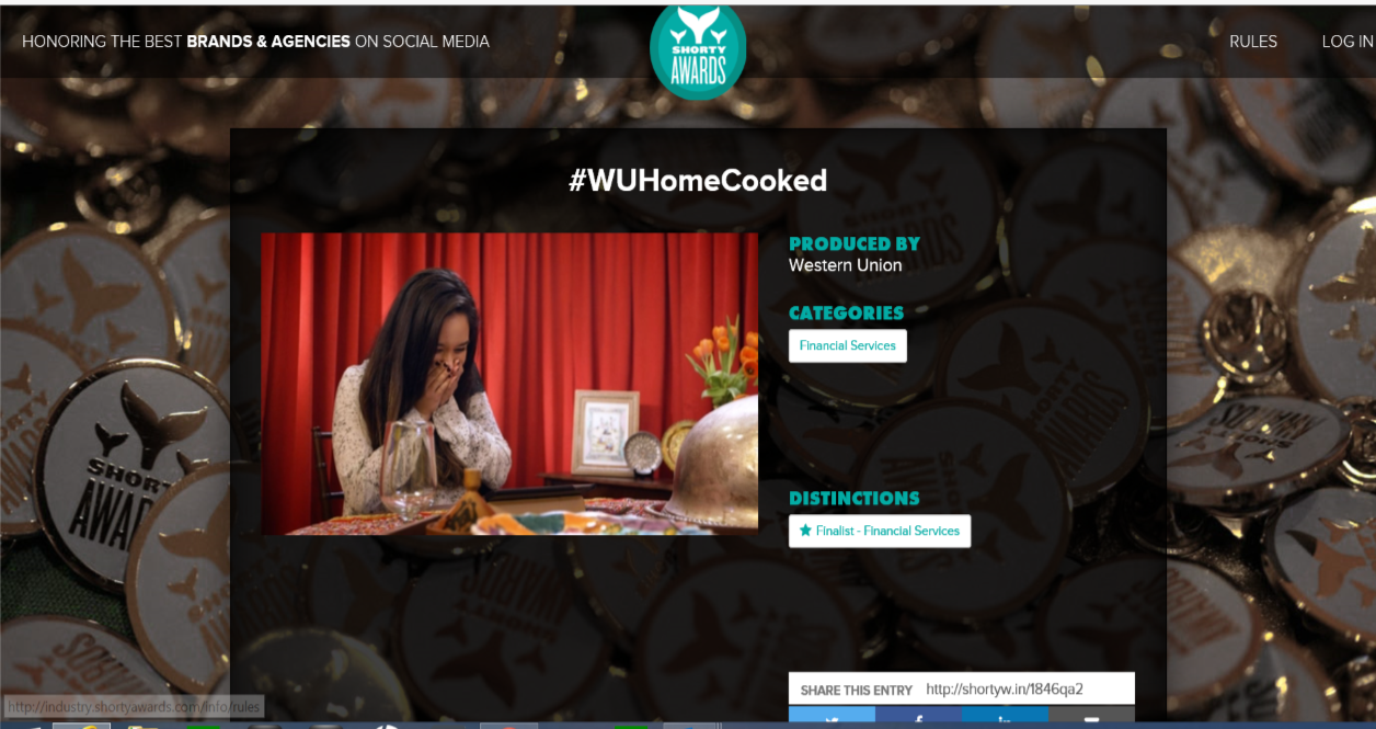 Award-Winning Fortune 500 Case Study - Cooking up an award-winning campaign for Western Union: