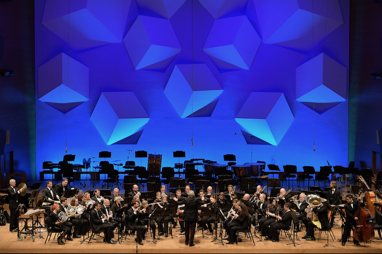 Conductor & Performers -Jerry Luckhardt leads a group of musicians dedicated to the performance of quality wind band reporter in the Twin Cities -