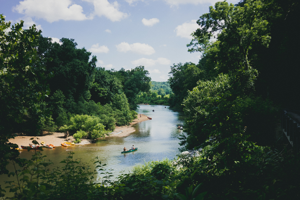 4.) Canoeing the Harpeth