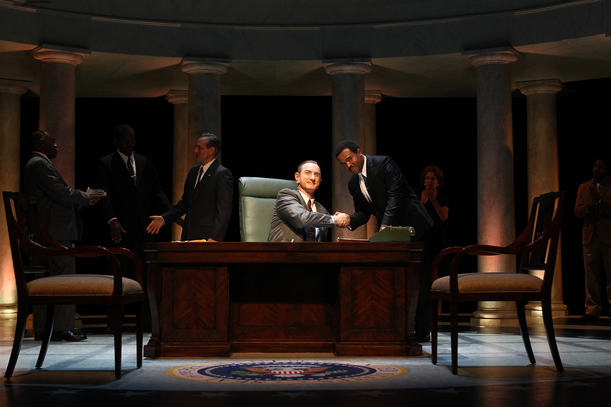 All the Way  By Robert Schenkkan  Directed by Marc Masterson  South Coast Repertory  2016