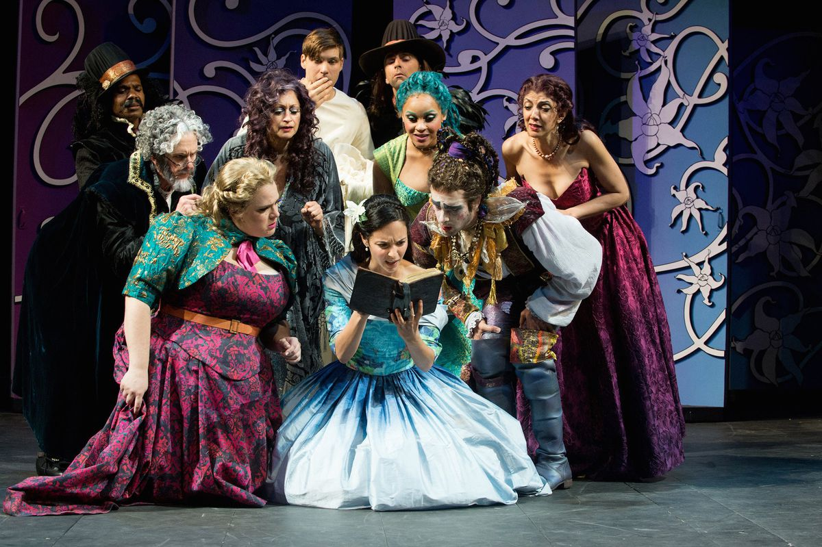 Head Over Heels (World Premiere)  Play by Jeff Whitty  Music and Lyrics by the Go-Go's  Directed by Ed Sylvanus Iskandar  Oregon Shakespeare Festival   2015