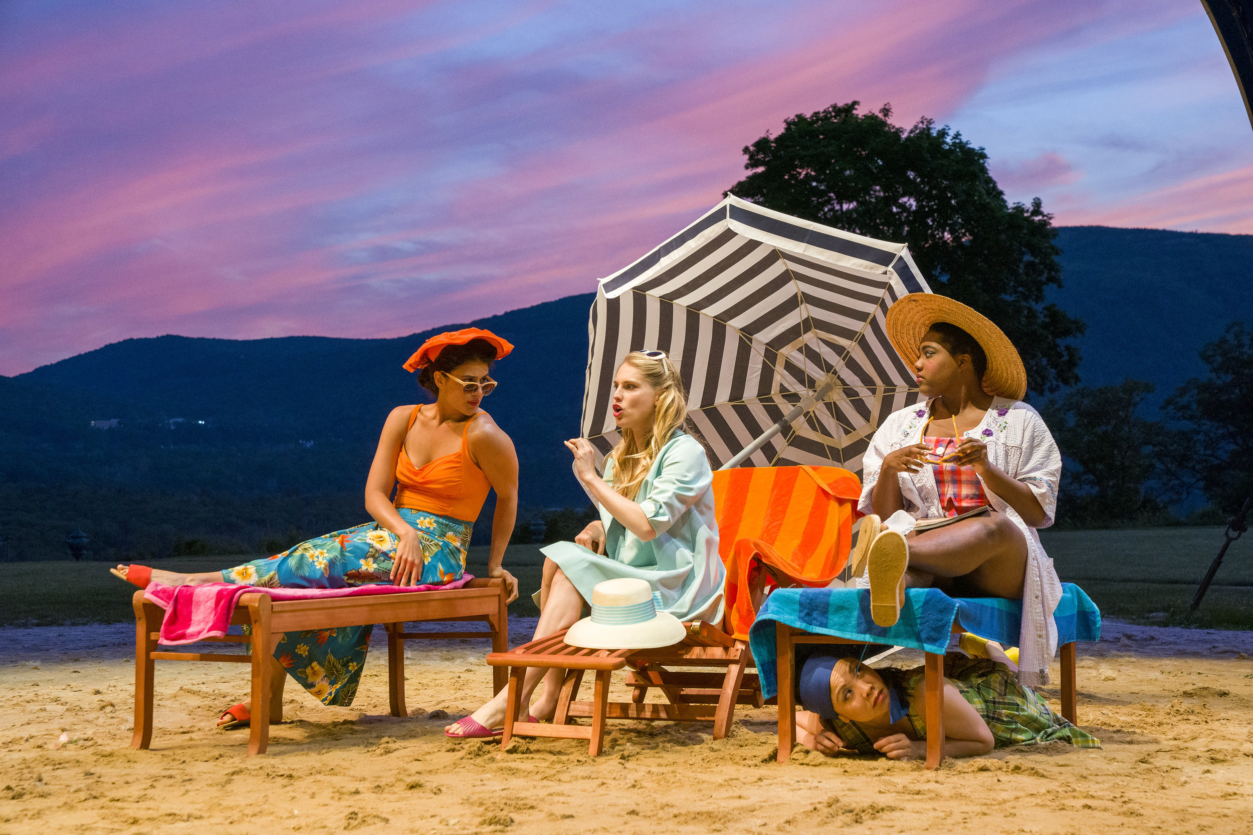 Much Ado About Nothing  By William Shakespeare  Directed by May Adrales  Hudson Valley Shakespeare Festival  2019