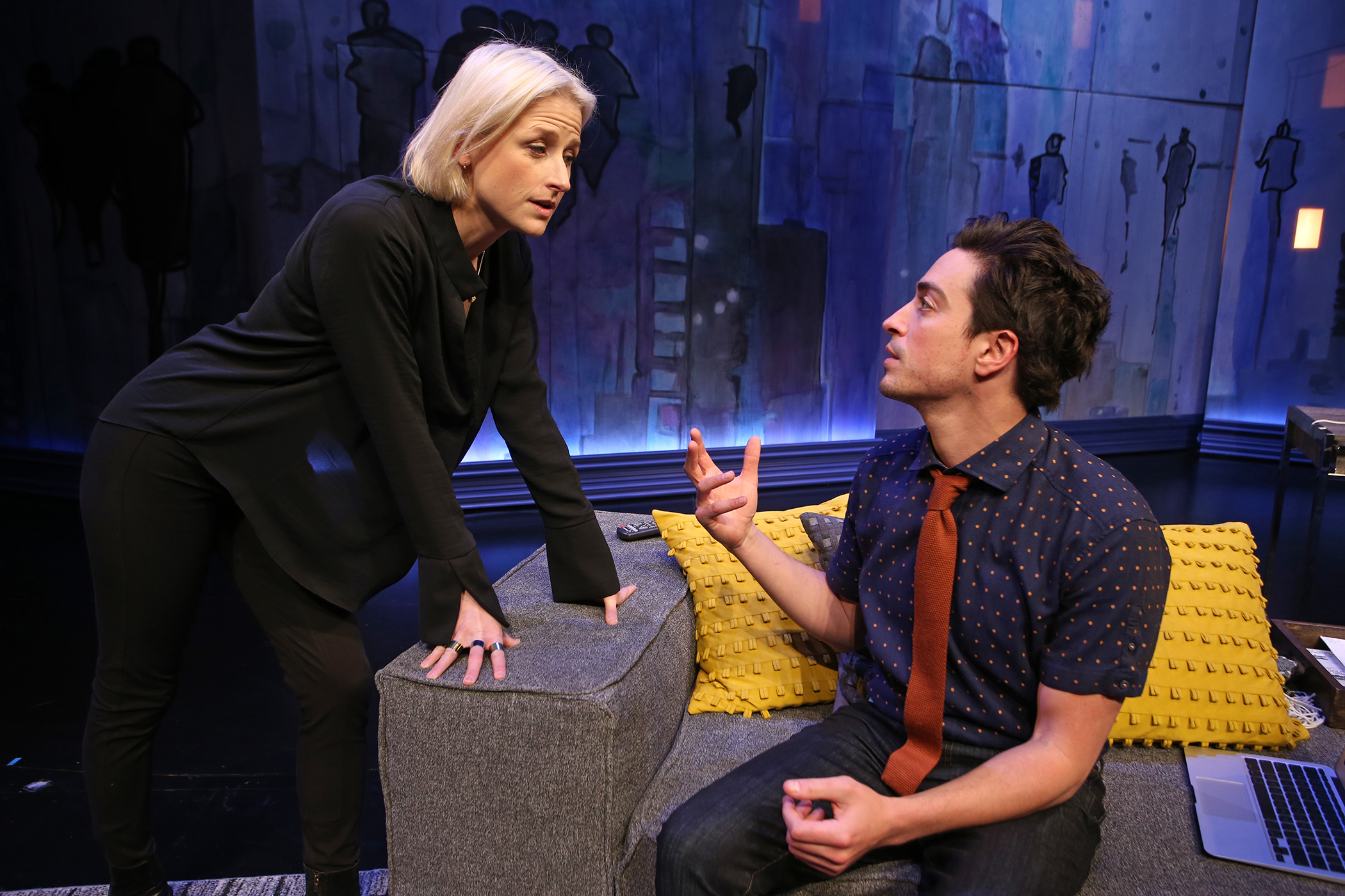 The Siegel (World Premiere)  By Michael Mitnick  Directed by Casey Stangl  South Coast Repertory  2017