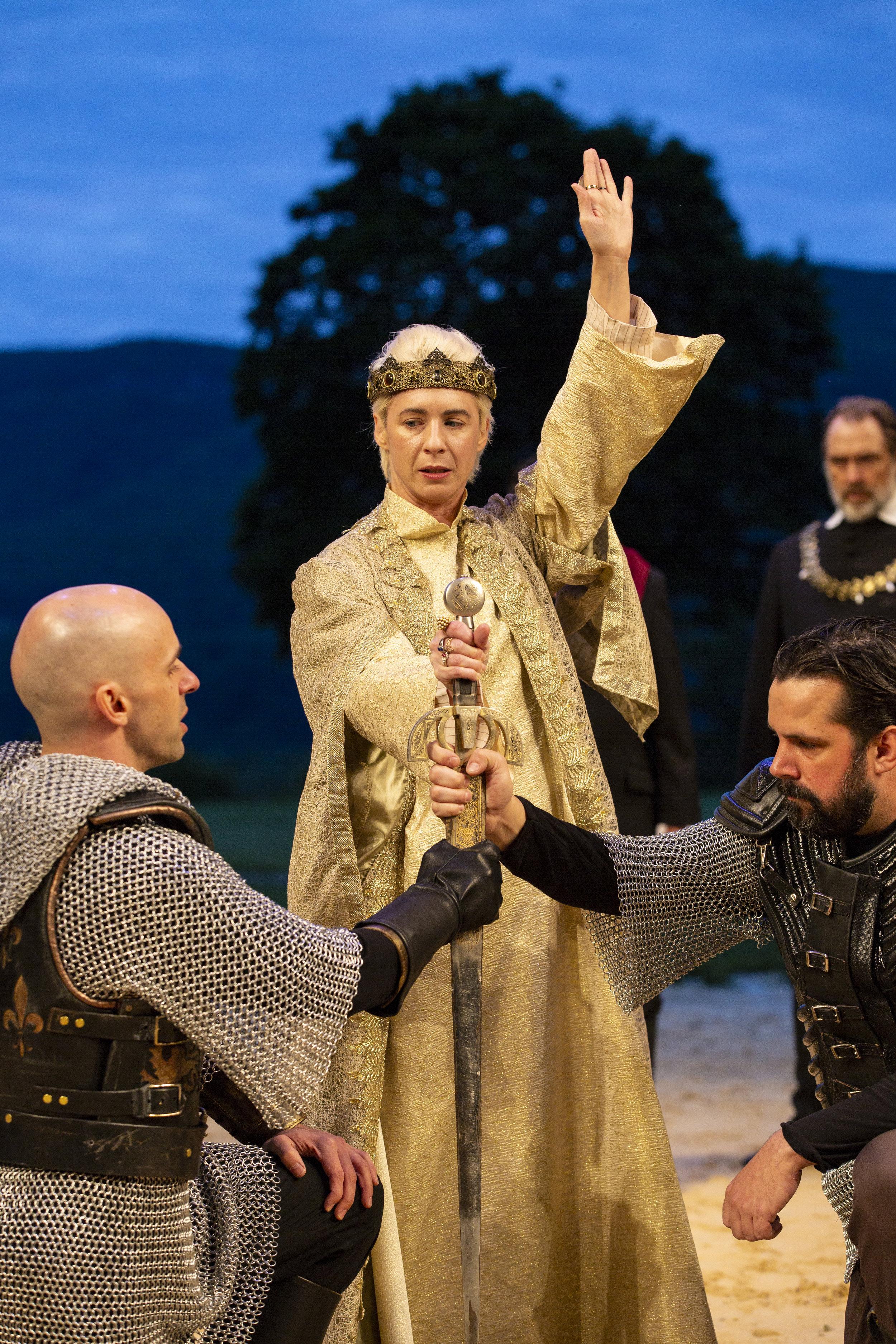 Richard II   By William Shakespeare  Directed by Davis McCallum  Hudson Valley Shakespeare Festival  2018