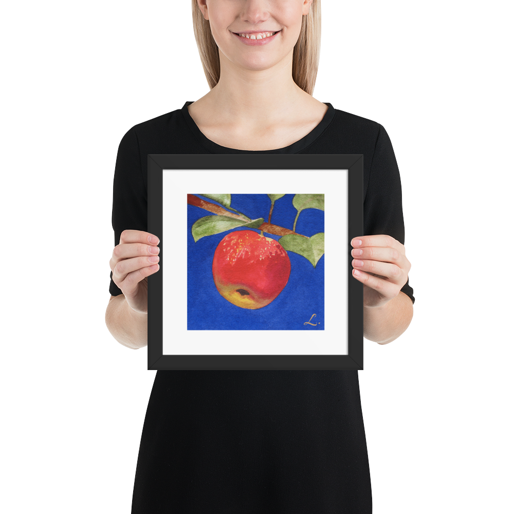 Red-Apple-on-Branch-Fruit-frame-10x10-copy_mockup_Person_Person_10x10.png