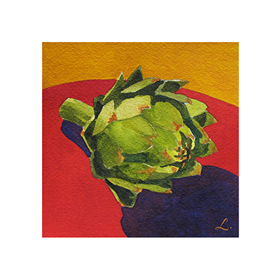 Artichoke on Mustard and Red.png