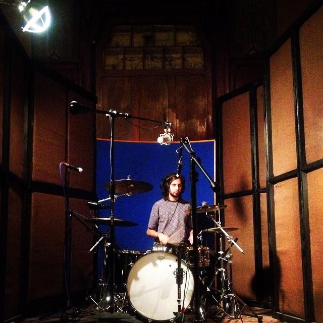 Will Ponturo on drum kit