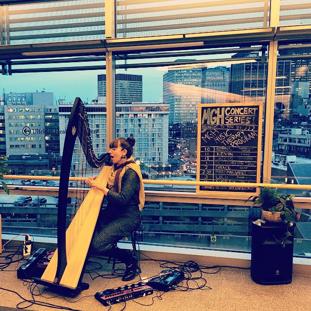 Environmental Music Series put on by the Music Therapy Program at MGH. (at Mass General Hosptial)