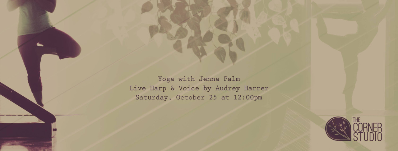 I will be accompanying the lovely Jenna Palm for a yoga session on Saturday, October 25 at 12pm. It would be lovely to see you.  https://www.facebook.com/events/830563393630541/