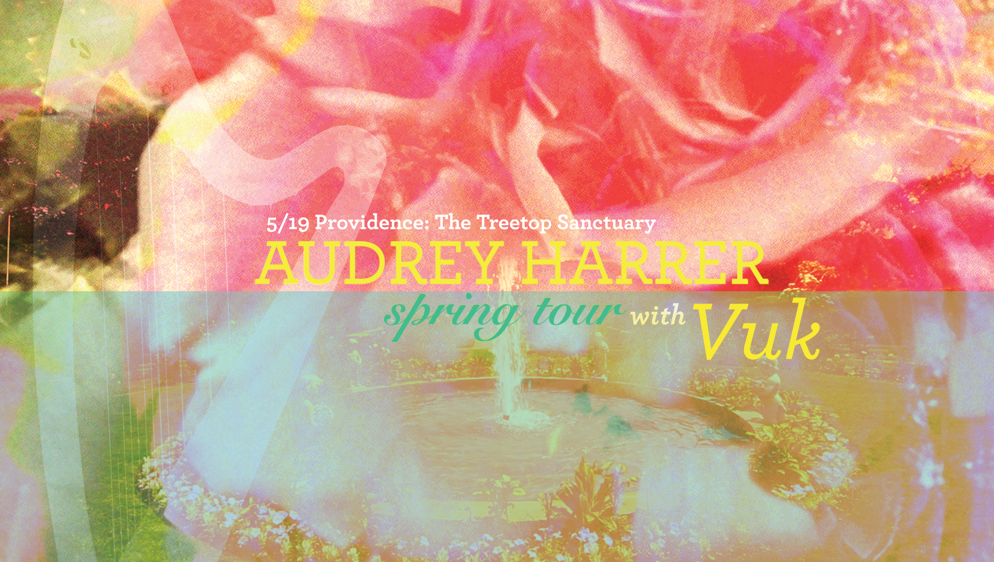 5/19 PROVIDENCE: The Treetop Sanctuary  w/ Vuk   https://www.facebook.com/events/1696217837309676/