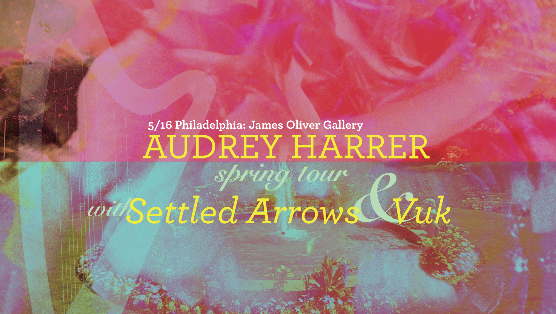 5/15 Philly: James Oliver Gallery  Settled Arrows // Vuk   https://www.facebook.com/events/474988196030910/