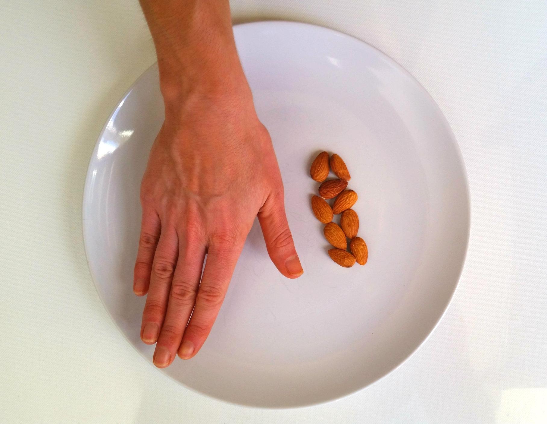 Almonds are a fat