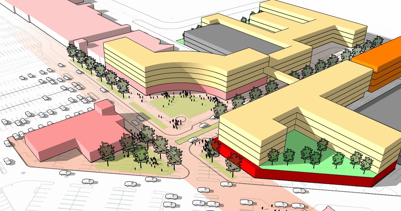 Centennial Promenade - Denver, ColoradoMaster Planning
