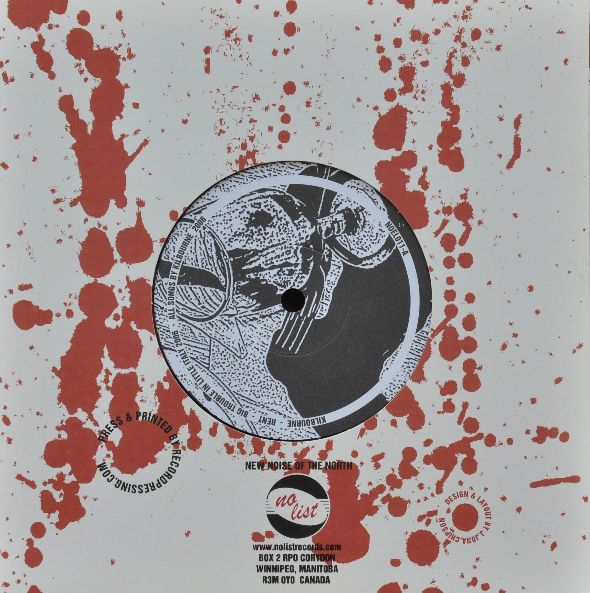 "Tous Split 7"" <br /> New World on Fire // Kilbourne"