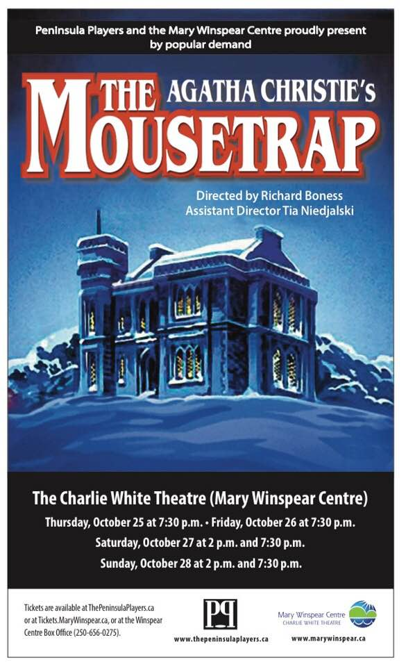- By popular demand, our fall production this fall will be: