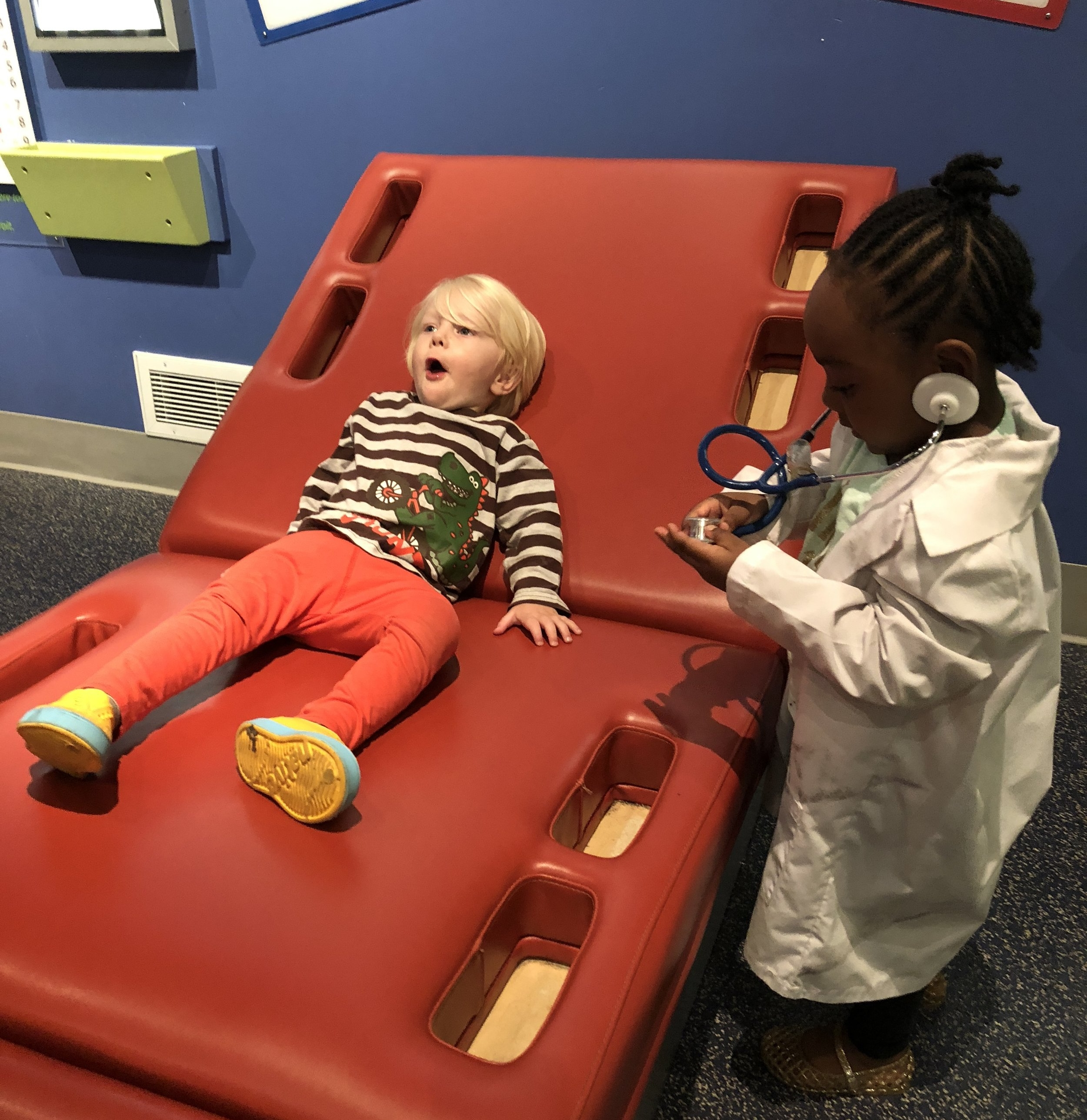 Doctor fun at the Science Centre