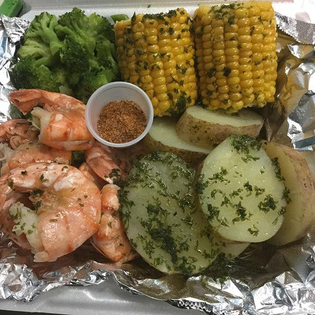 Steamed shrimp basket @taste_of_flava #foodhubs  #ilovefood  #freshseafood  #NJFood  #BroadwayNJ  #foodbeast  #gurb  #foodporn  #grubhub  #newark  #BroadwayNJ  #africanfood  #northnewark  #NomNom  #soulfood  #goodeating  #goodfood  #tasteofflava  #seafood  #foodVSman #tasteofflava #chefCess🙌🏾 #goodeating #goodfood #foodaroundme #homeofcirocwing