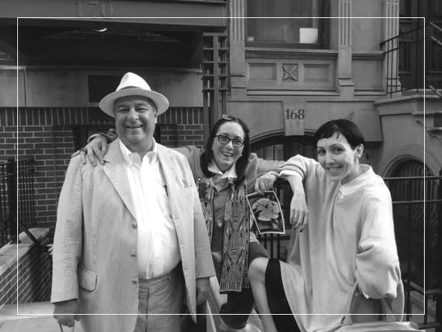 Frederico Sève, Violy McCausland and Michelle Harper