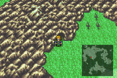 In many cases, the player character is as large as the terrain features.
