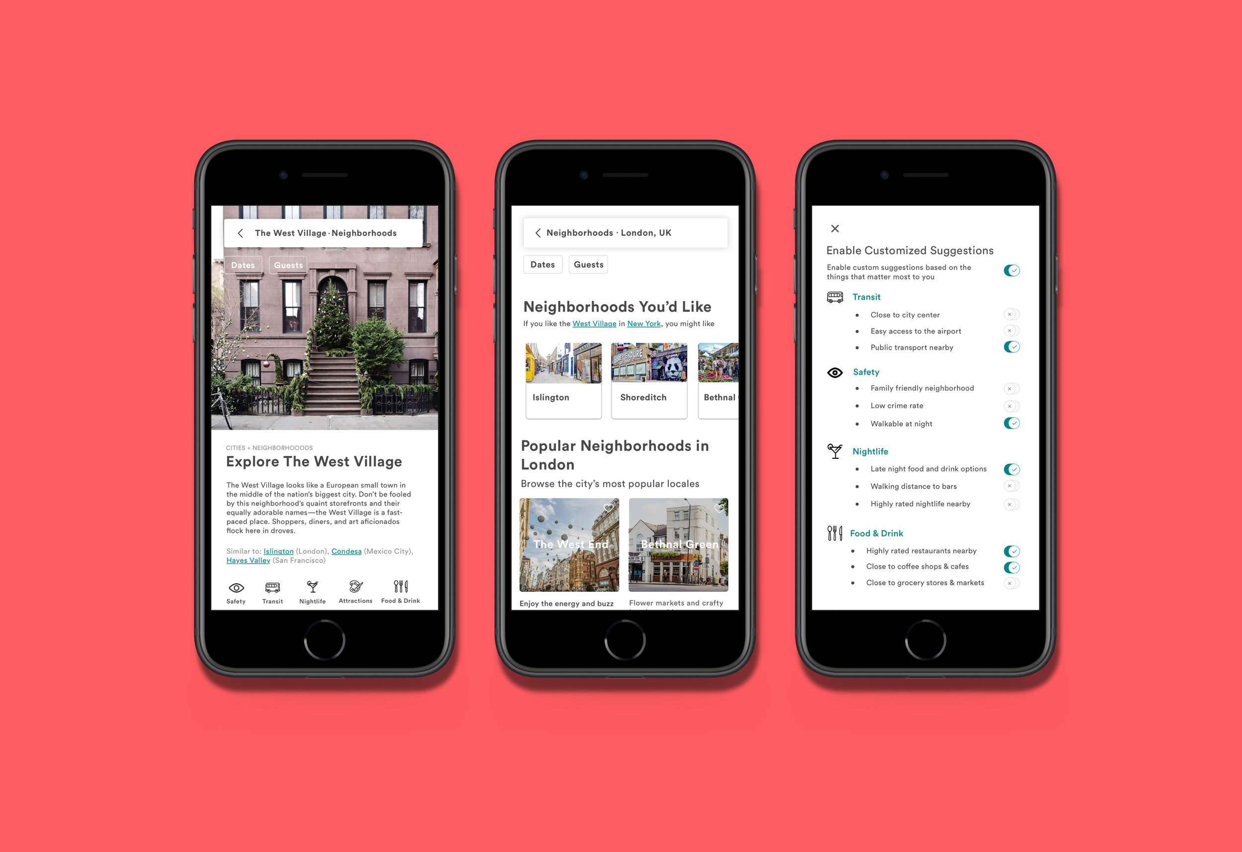 Airbnb iOS App - User Research / UX Design / UI Design /Prototyping /Usability Testing