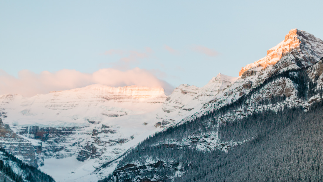 Mountains of Lake Louise