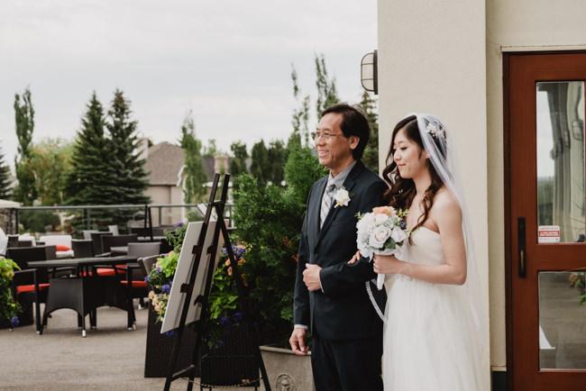 Heritage Pointe Bride Father