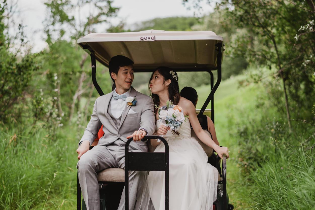 Wedding at Heritage Pointe Golf Resort