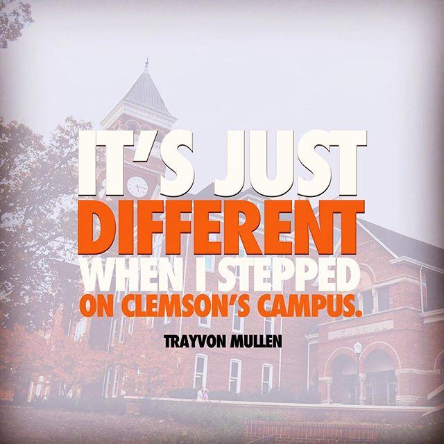 Trayvon Mullen knows what's up. #itsjustdifferent