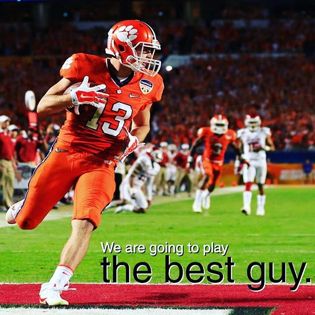 Dabo says the best guys play, walk-on or not.