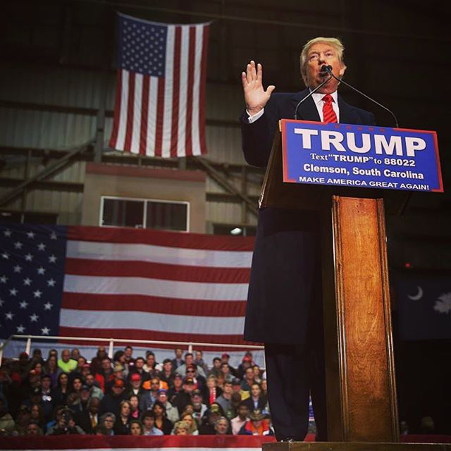 Did anyone in the Clemson area check out Trump last night?? If so, how was it??