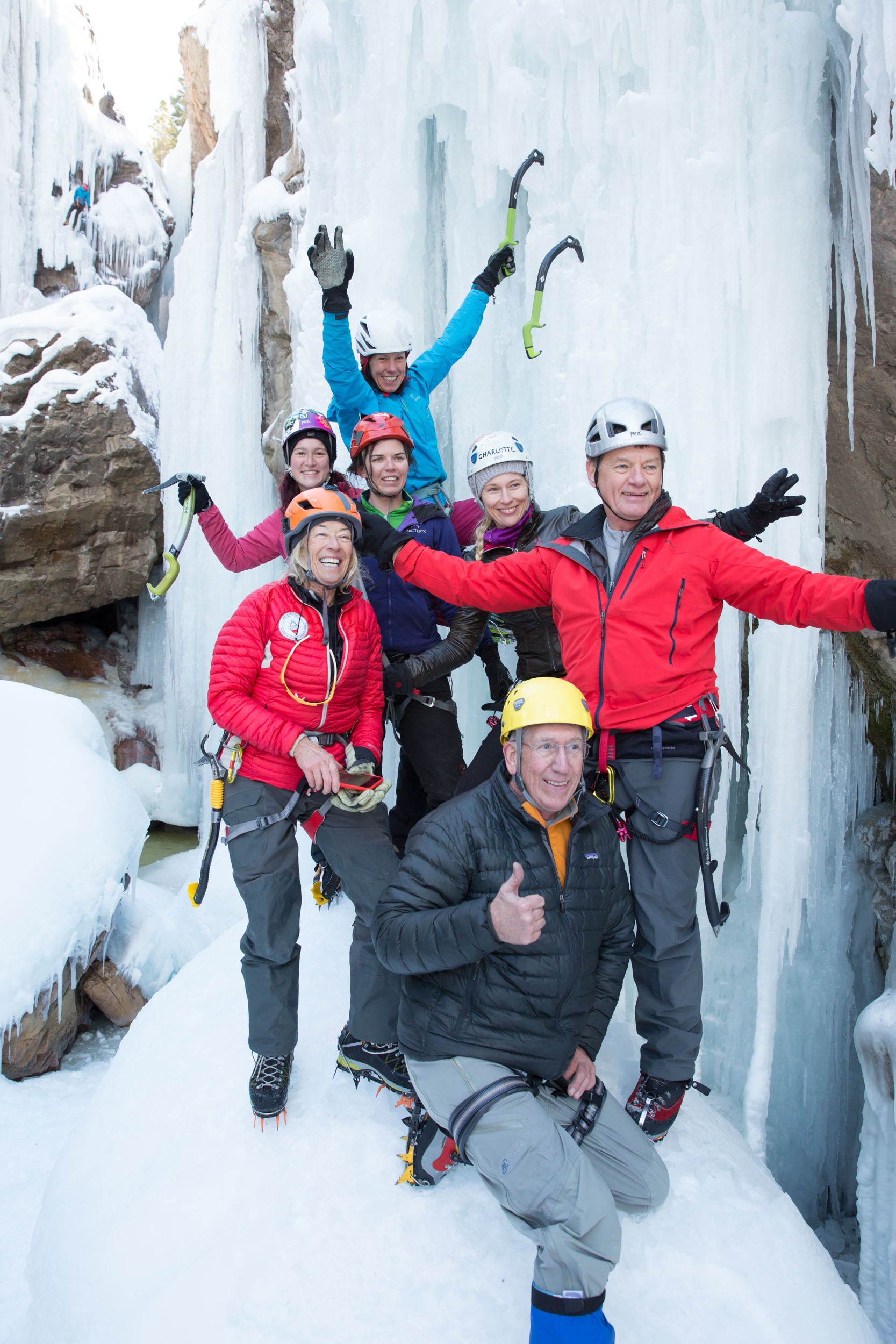 MY PSYCH IS HIGH - Costs $75 and includes all of the benefits above AND a Ouray Ice Park T-Shirt!
