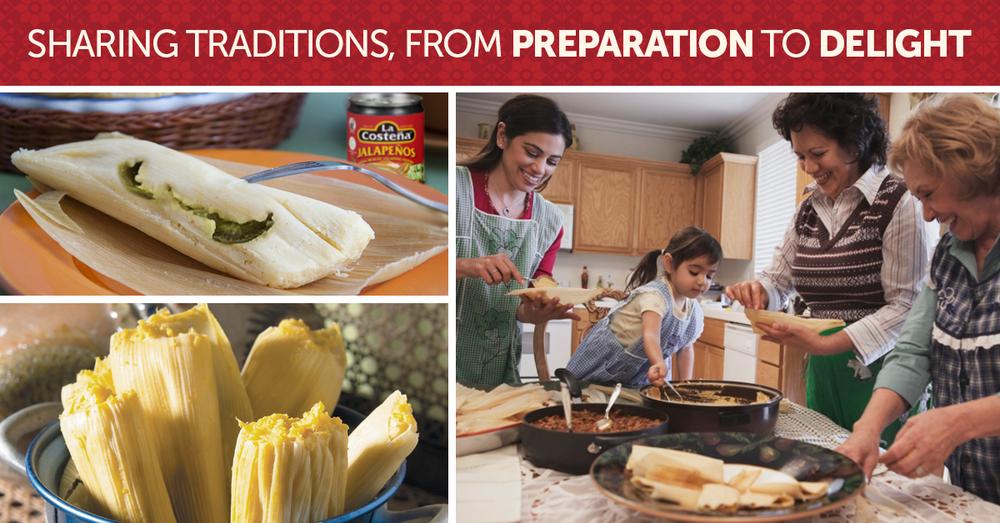 Tamales recipe teaser - La Costeña Jalapeños