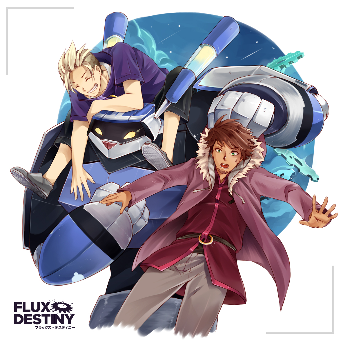Flux Destiny Promo Art by Kei Seki.