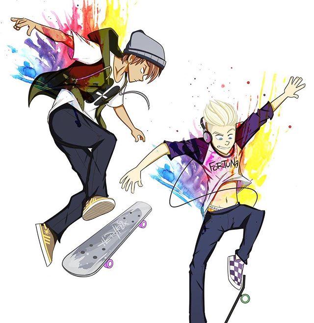 Radical. #skateboard #skaterboy #skater #characterdesign #teen
