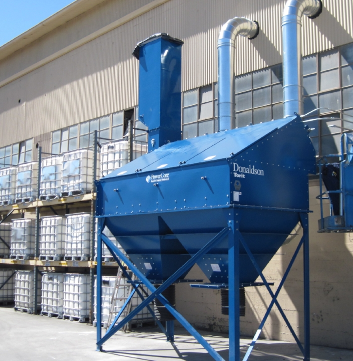Donaldson CPC PowerCore used on a paint production process,  installed by WES-CO