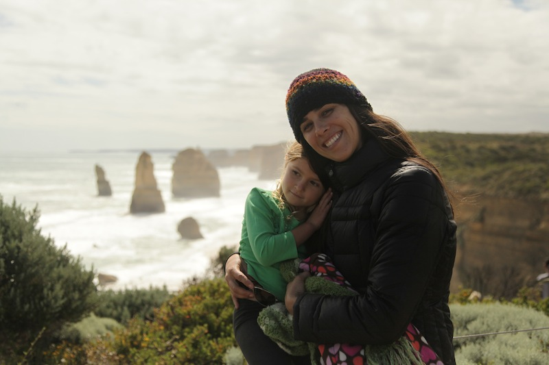 Jamie and Xen getting some needed down time on the South Coast bathing in the beauty of the 12 Apostles! Powerful country!!