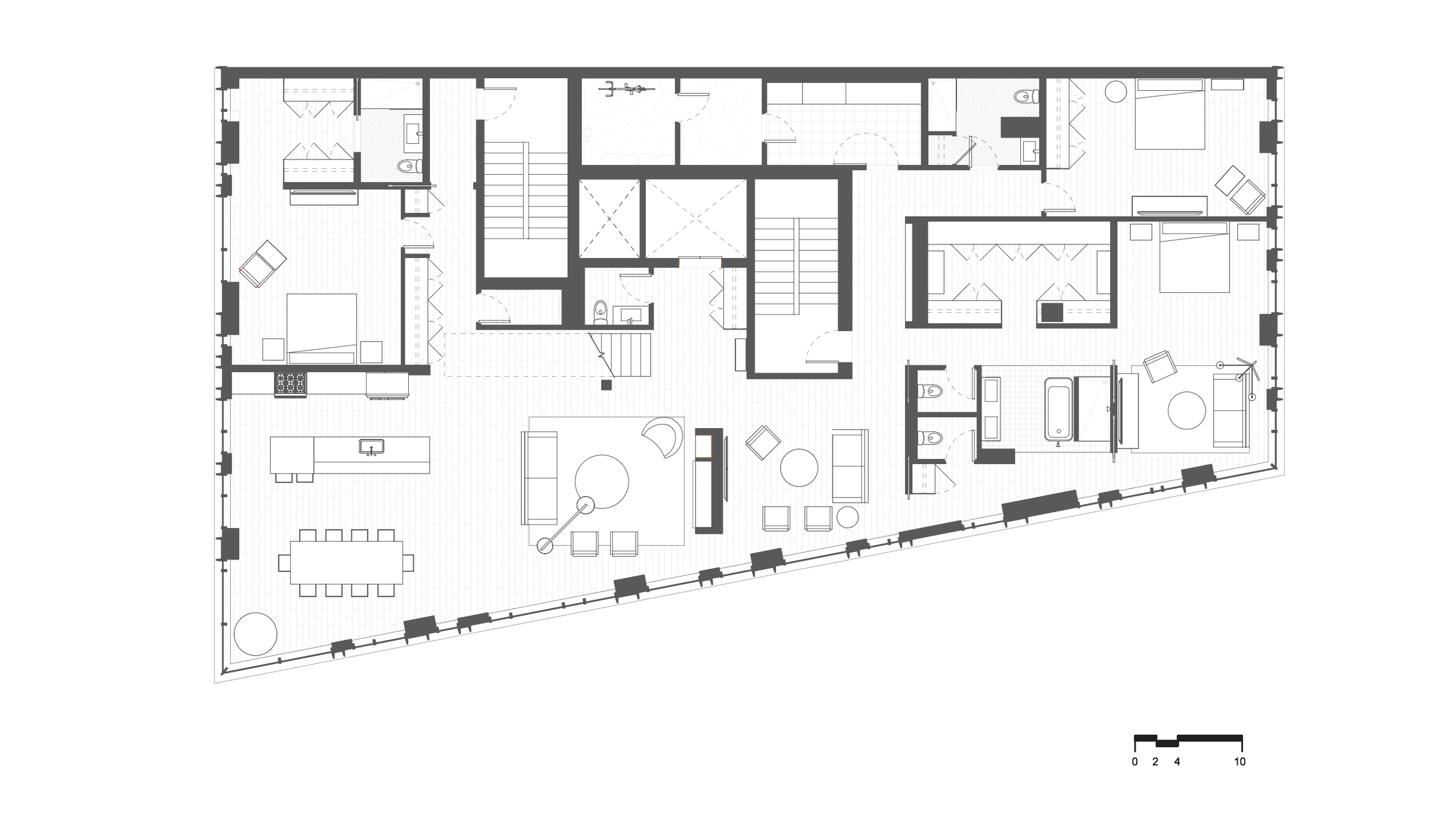 Plan - Penthouse
