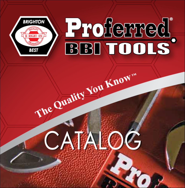 Proferred Tools Catalog