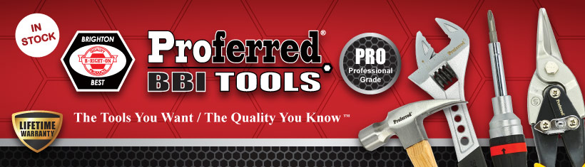 Proferred Tools