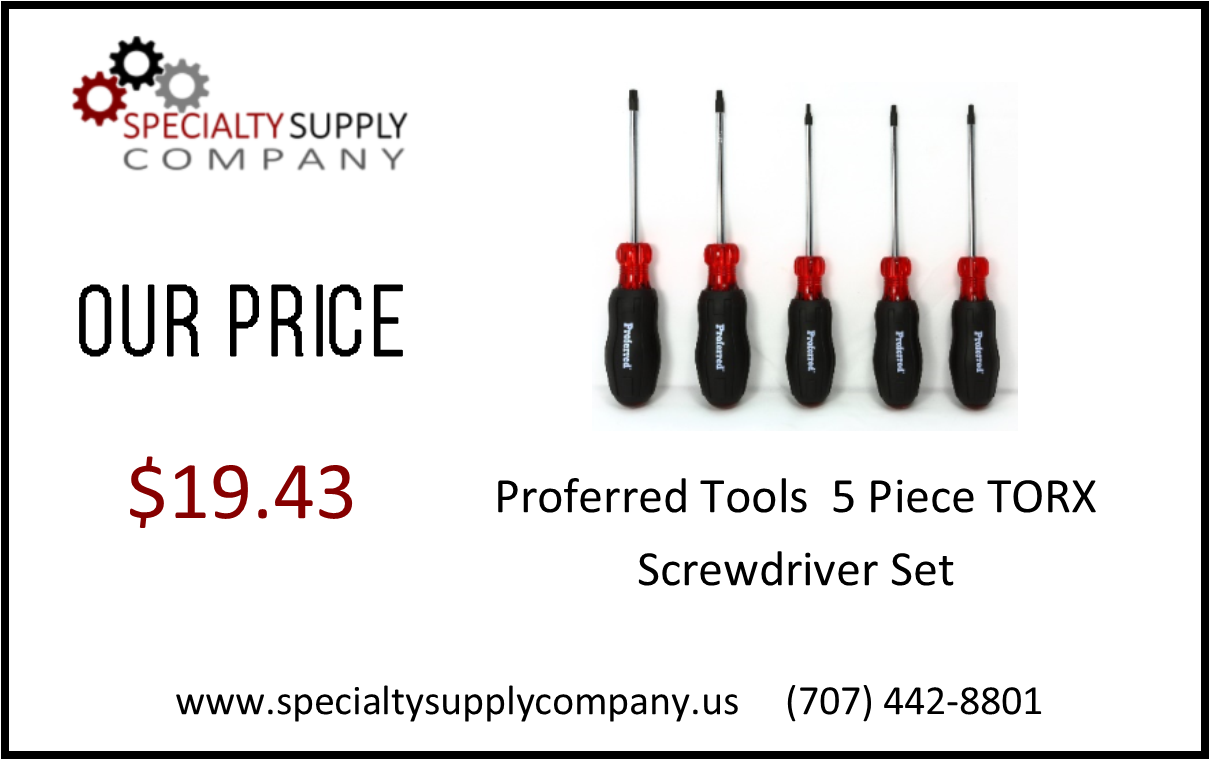 5 Piece TORX Screwdriver Set.png