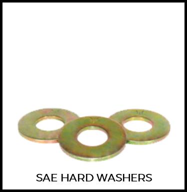 SAE Hard Washers