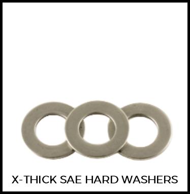 Extra Thick SAE Hard Washers