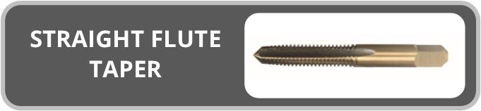 Norseman Straight Flute Taper Taps