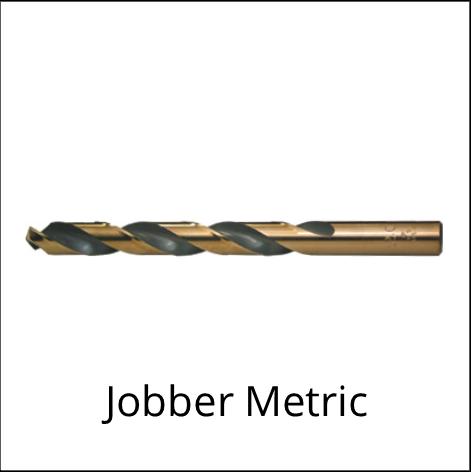 Jobber Length Metric Drill