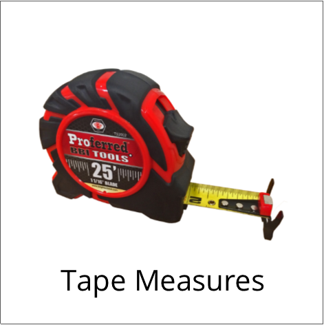 Proferred Tape Measures